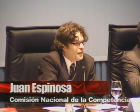 Juan Espinosa. Comisión Nacional da Competencia. - Presentación da guía sobre contratación das administracións públicas e competencia